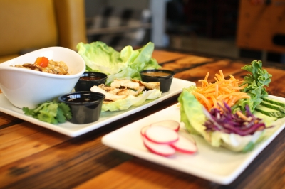 WEST COAST LETTUCE WRAPS